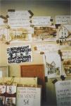 Affichage à la Bourse occupée. Paris, juin 2009.