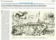 """Publication """"De Lampedusa à Calais, les Frontières tuent"""", Le Monde, 13-14 septembre 2015"""