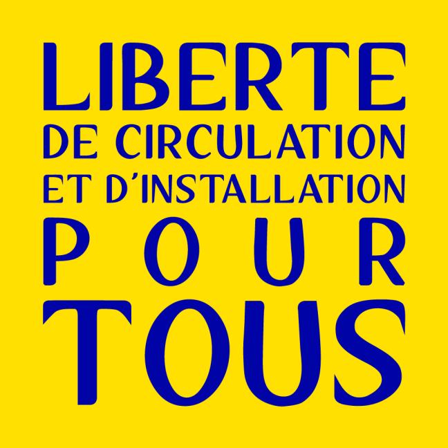 Dos tee-shirt La Marche européenne des Sans Papiers et Migrant.e.s © Laura Genz