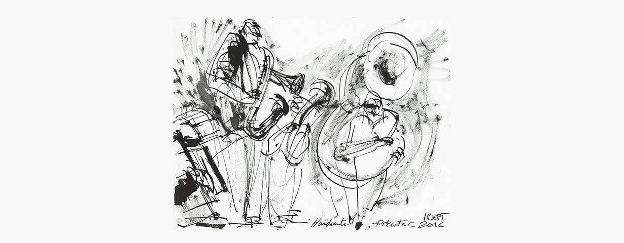 Haïdouti Orkestar III. Complètement BAAM. Paris, 18 septembre 2016 © Laura Genz